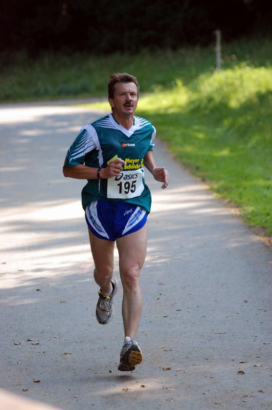 Dritter des 10000m Lauf: Heinrich Ochs