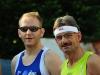 Die beiden Sieger des 10000m Lauf: Mike Schwarz und Ernst-Ludwig Engelmohr