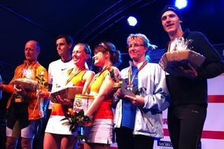 Sieger im Duo Marathon Mixed Staffel 2011, Petra Paulus und Ralf Paulus