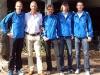 Teilnehmer vom SVD: Ralf Paulus, Horst Wiegand, Ernst-Ludwig Engelmohr, Normen Stiebig und Oliver Seiwert (Foto von links nach rechts)