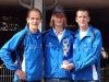 Mannschaftswertung: 1. Platz für Ralf Paulus, Normen Stiebig und Oliver Seiwert (Foto von links nach rechts)  Horst Wiegand nachgemeldet, wurde daher für die Mannschaft nicht gewertet.