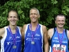 3. Platz Mannschaften M40/45: Ralf Paulus, Horst Wiegand und Michael Jäger