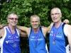 5. Platz Mannschaften M50/55: Harald Ludwig, Walter Kohl und Helmut Ruhwedel