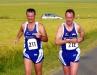 4400m: Sieger der Altersklassen M45 (Michael Jäger) und M55 (Gerhard Spiel)