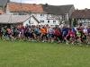 Startaufstellung am Sportlerheim in Dodenhausen