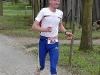 Zieleinlauf: Peter Groß (466) Gesamtsieger 26,2km