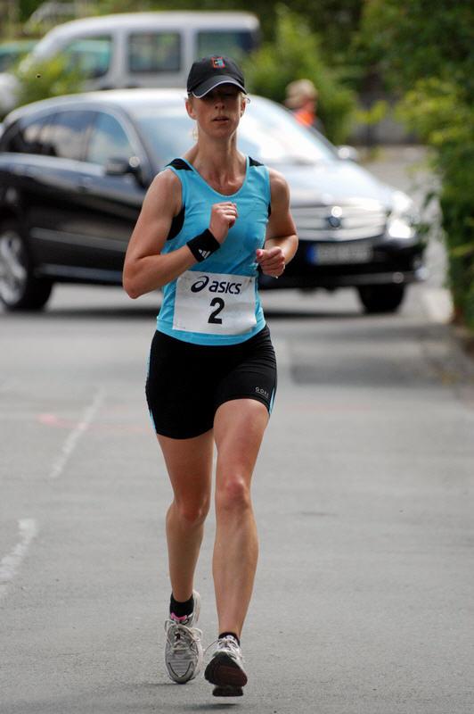 Siegerin des Halbmarathon: Claudia Wagener-Neef