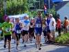 Start Halbmarathon, Läufer des SV Dodenhausen: Nr. 13 Klaus Kirschner und Nr. 35 Ralf Paulus