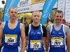 Vor dem Start: Gert Bayer, Mike Schwarz und Michael Jäger