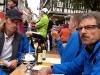 Nach dem HM ist vor dem Marathon: Stärkung in Form von Kuchen ist sehr wichtig!