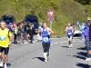 Klaus Kirschner und Bernd Mehring in Lauterbrunnen etwa bei km 20. Bis hierhin sind Klaus Kirschner und Bernd Mehring zusammen gelaufen, etwa bei Höhenmeter 800.