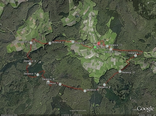 Strecke 13,7km