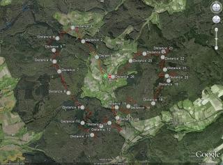 Strecke 26,2km