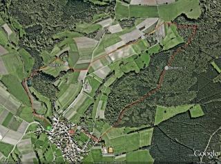 Strecke 4,3km