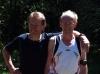 Klaus Kirschner und Bernd Mehring am Wüstegarten.